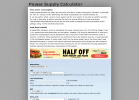 powersupplycalculator.net