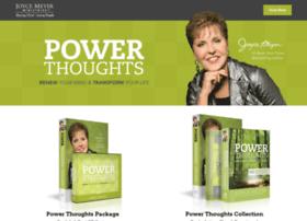 powerthoughtsoffer.joycemeyer.org