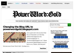 powerwordgold.net
