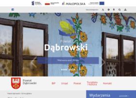 powiatdabrowski.pl
