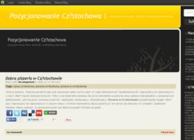 pozycjonowanieczestochowa.blog.com