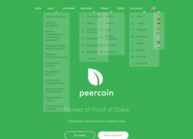 ppcoin.org
