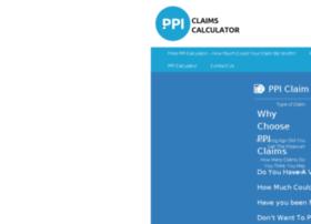 ppiclaimscalculator247.co.uk