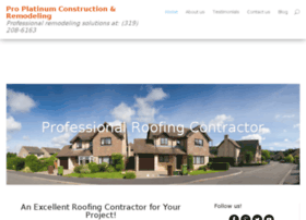 pplatinumconstruction.com