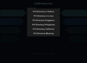 pr5directory.com