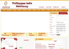 prabhanjamindiamatrimony.com