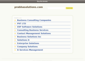 prabhasolutions.com