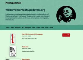 prabhupadavani.org