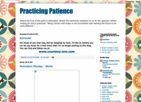 practicingpatience.blogspot.com