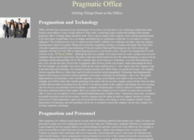 pragmaticoffice.com