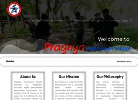 pragnyamontessorischool.com