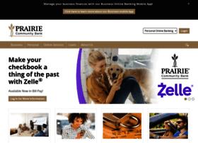 prairiecommunitybank.com