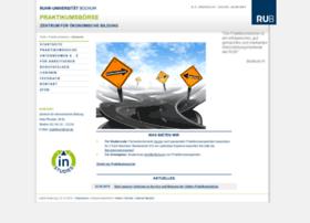 praktikumsboerse.ruhr-uni-bochum.de