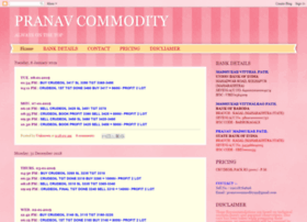 pranavcommodity.blogspot.in