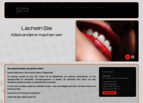 praxis-zaehne.de