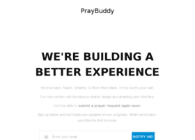 praybuddy.com