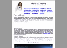 Prayer-and-prayers.info