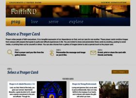 prayercards.nd.edu