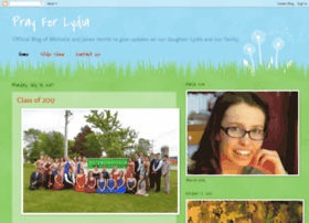 prayforlydia2012.blogspot.fr