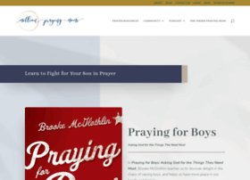 prayingforboys.com