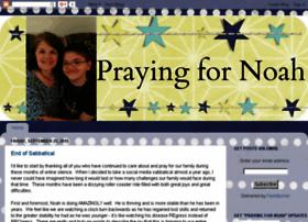 prayingfornoah.com