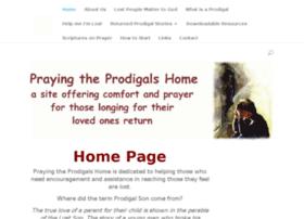 prayingtheprodigalshome.com