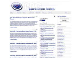 prcboardexamresults.com