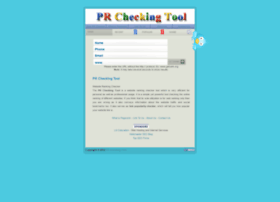 DigPageRank Pagerank Checker Tool in over.