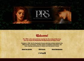 pre-raphaelitesociety.org