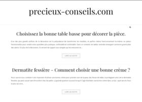 precieux-conseils.com
