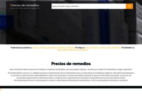preciosderemedios.com.ar