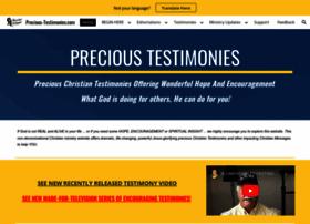 Precious-testimonies.com