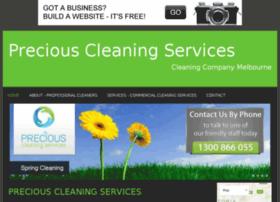 preciouscleaningservices.bravesites.com