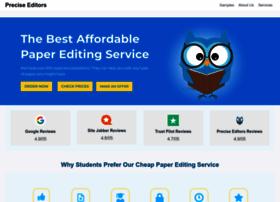 preciseeditors.com
