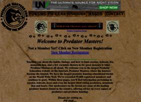 predatormastersforums.com