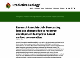 predictiveecology.org