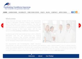 preexistingconditionsinsurance.org