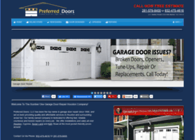 preferreddoorservice.com