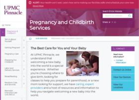 pregnancy.pinnaclehealth.org