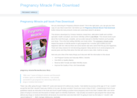 pregnancymiraclefreedownload.weebly.com
