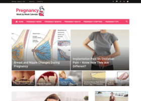 pregnancyweekbyweekcalendar.com