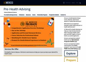 prehealth.ucmerced.edu