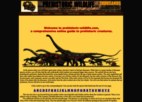 prehistoric-wildlife.com