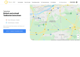 preisrechner.taxi.de