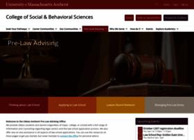 prelaw.umass.edu