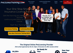 prelicensetraining.com