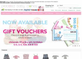 prelovedbabyclothes.com.au