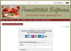 premeditatedleftovers.ziplist.com