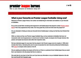 premierleagueheroes.co.uk