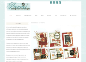 premierscrapbookdesigns.com